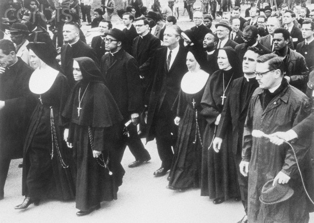 Nuns in a Civil Rights March