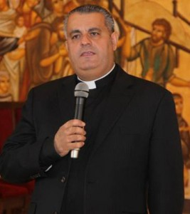 Fr. Rif'at Bader, director of the Catholic Center for Studies and Media in Jordan