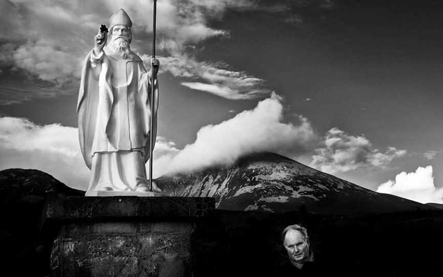 Annual pilgrimage up Ireland's Croagh Patrick mountain ...