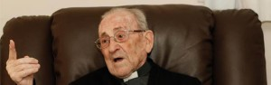 100 year old priest