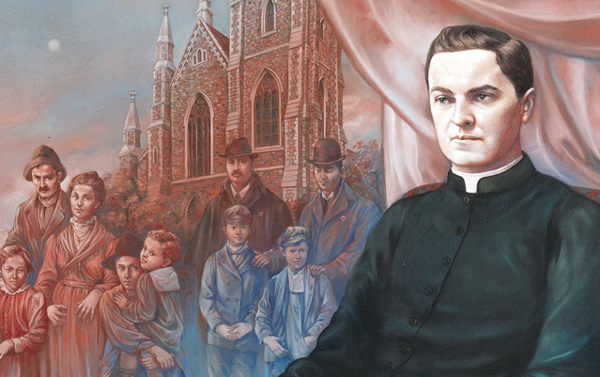 Fr. michael mcgivney-painting