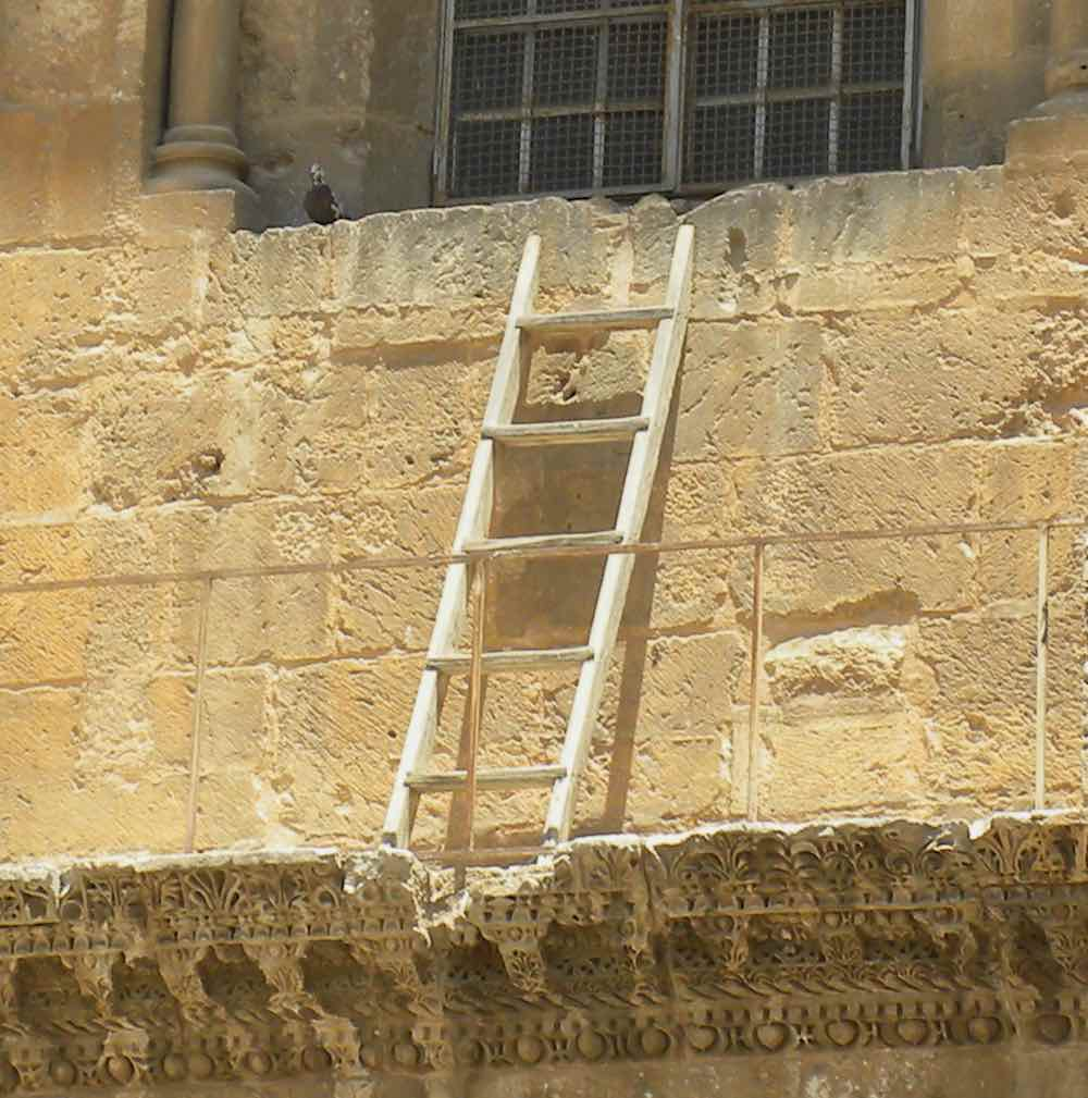 Immovable Ladder