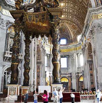Altar of St. Peter's Basilica