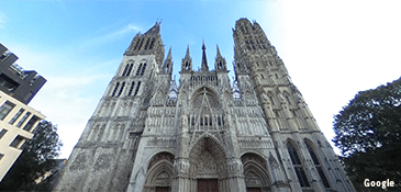 Rouen Gothic Cathedral