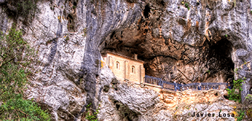 The Holy Cave of Our Lady of Covadonga
